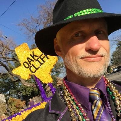 Oak Cliff Mardi Gras Parade by Evan Engwall