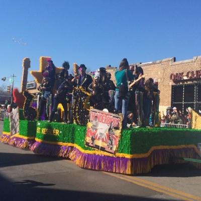 Oak Cliff Mardi Gras Parade by McKay Heim