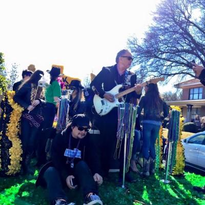 Oak Cliff Mardi Gras Parade by Tilde Guajardo