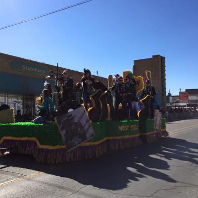 Oak Cliff Mardi Gras Parade by WKNA 13
