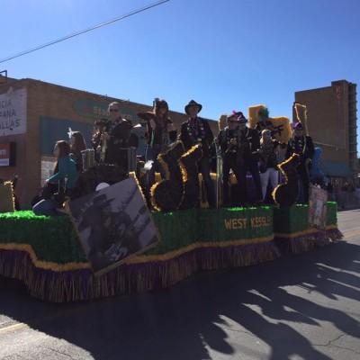 Oak Cliff Mardi Gras Parade by WKNA 14