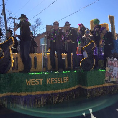 Oak Cliff Mardi Gras Parade by WKNA 15