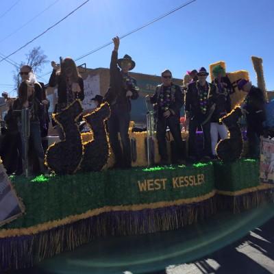 Oak Cliff Mardi Gras Parade by WKNA 16