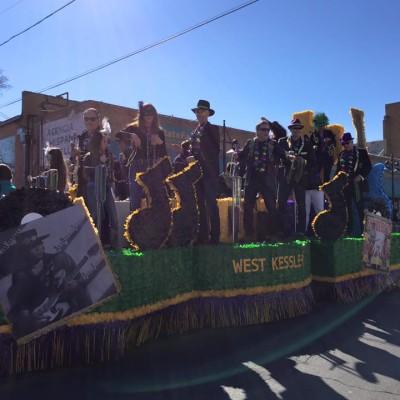 Oak Cliff Mardi Gras Parade by WKNA 17