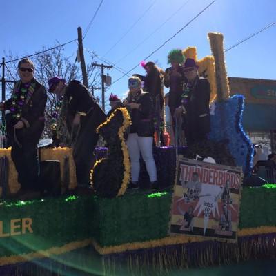 Oak Cliff Mardi Gras Parade by WKNA 18