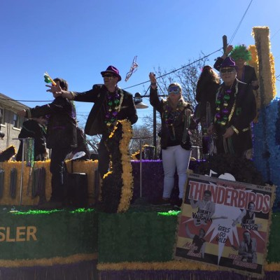 Oak Cliff Mardi Gras Parade by WKNA 19