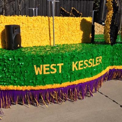 Oak Cliff Mardi Gras Parade by WKNA 2