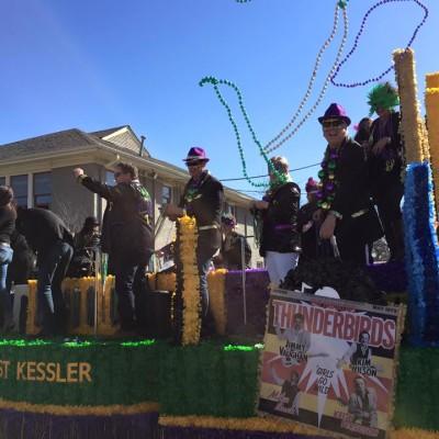 Oak Cliff Mardi Gras Parade by WKNA 20