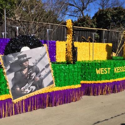Oak Cliff Mardi Gras Parade by WKNA 4