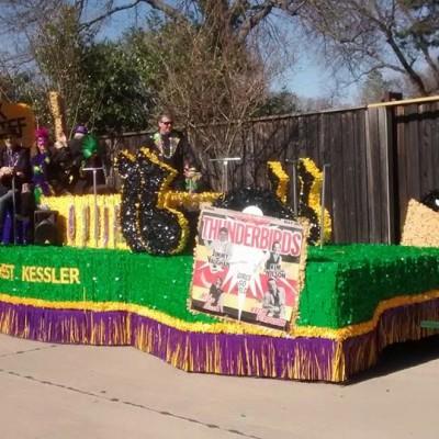 Oak Cliff Mardi Gras Parade by WKNA